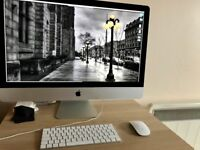 iMac 27 Retina 5K 3.2 GHz i5 (Late 2015) looks new, boxed, complete