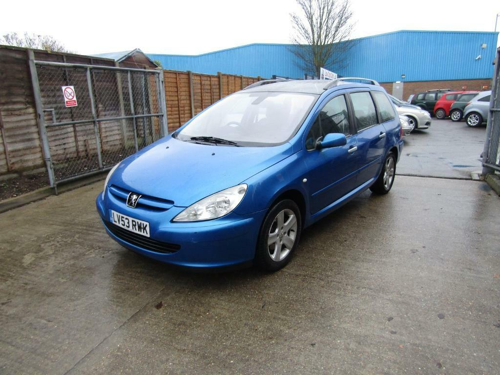 peugeot 307 sw sw se blue 2003 in sittingbourne kent gumtree. Black Bedroom Furniture Sets. Home Design Ideas