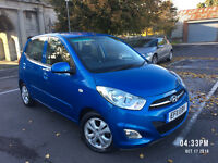 2011 HYUNDAI I10 1.3 ACTIVE BLUE 5 DOORS, 1 P.OWNER, F/S/H,NOT ka , YARIS, POLO