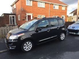 Citroen c3 Picasso exclusive 1.6 hdi 59 reg