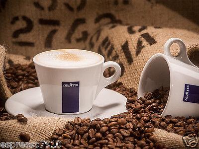 1 Stück Lavazza BLUE Cappuccino-Tasse inkl Untersetzer  Cappuccino-tasse