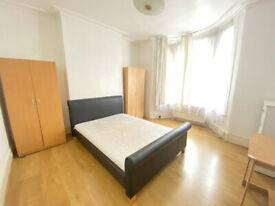 LARGE DOUBLE ROOMS NEAR STRATFORD STATION (NO DEPOSIT REQUIRED)