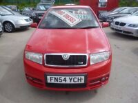 Skoda FABIA VRS TDI,5 dr hatchback,very fast,nice clean tidy car,runs and drives well,