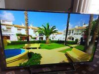 PANASONIC VIERA 49 LED TV (MINOR MARK)FREEVIEW HD/UHD 4K/SMART/WIFI/MEDIA PLAYER/1000 HZ/NO OFFERS