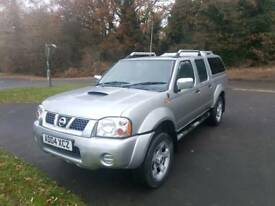 NISSAN NAVARA OUT LAW 04 2004 DOUBLE CAB