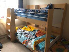 Julian Bowen Domino Bunk Bed Frame