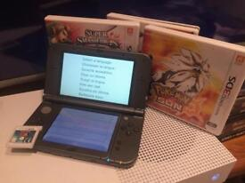 **New** Nintendo 3dsXL w/ games