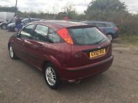 AUTOMATIC FORD FOCUS IN LOVELY METALLIC RED LOVELY SMOOTH DRIVING AUTOMATIC ANYTRIAL PX CONSIDERED