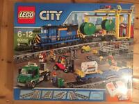 Lego city cargo train set 60052