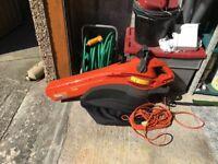 Flymo GardenVac 2700W Turbo leaf blower/vacuum