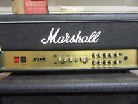 Marshall 210H 100watt valve head, 4x12 cabinet, and custom built flightcase