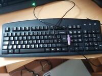 used computer keyboard with ps/2 connector