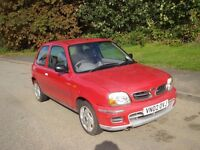 Nissan Micra 1.0 AUTOMATIC, 2002 02 49,000 miles, 12 months MOT. drives without fault