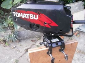 Tohatsu 2.5 hp 2 stroke outboard motor