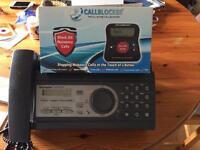 Fax/phone and call blocker