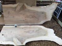 Huge Cedar of Lebanon Book-matched Slabs Timber PAIR!