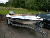 18ft Broom Aquarius speed boat. Rib. Fishing boat outboard etc.