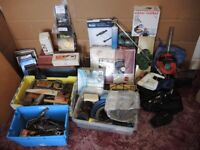 CAR BOOT STOCK - JOBLOT OF VARIOUS ITEMS - TOOLS / HOUSEHOLD ETC