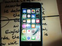 IPHONE 5C,BLUE,16 GB,FACTORY UNLOCK ANY NETWORK,SCREEN WATR DAMAGE,PERFECT WORKING