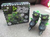 Boys Adjustable Inline Skates (Size 13 - 3)