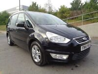 2014 FORD GALAXY ZETEC , AUTOMATIC DIESEL, MINT CONDITION , PERFECT RUNNER, 3...