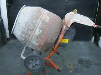 Belle Mini Mix 150 Cement Concrete Mixer 110v - With Stand