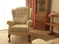 2 seater Fireside Settee and Chair +