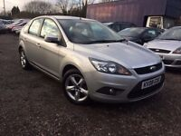 Ford Focus 1.6 TDCi DPF Zetec 5dr. HPI CLEAR. LONG MOT. GOOD CONDITION. DIESEL.P.X WELCOME