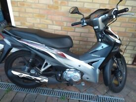 Honda Wave 110i semiauto, 8,000 miles, single owner for sale for £1,500 ONO