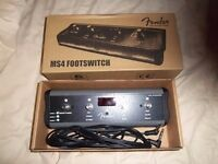 fender mustange amp ms4 footswitch