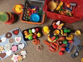 kids play food set