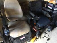 Electric wheel chairs x 2