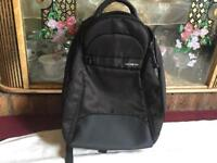 Samsonite backpack zipper black used good condition £8