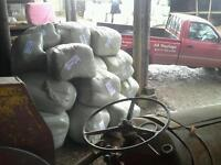 12 traditional heavy duty haylage bales