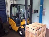 Jungheinrich Diesel Forklift. Lift Height 4.5m. Max weight 1600kg.