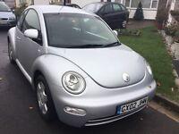 Volkswagen Beetle 2.0 facelift model 2002 3 door hatch mot September 94000 miles