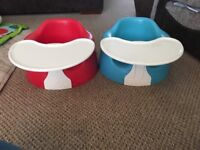 Blue & Red Bumbo Baby Seat