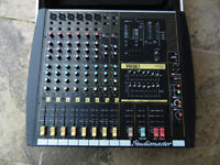 StudioMaster - Powerhouse FOCUS 608 - Powered Mixer.