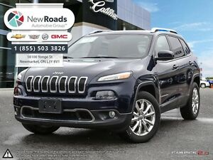 2015 Jeep Cherokee Limited Limited, Leather, Nav, AWD