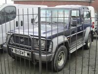 DAIHATSU FOURTRAK INDEPENDENT TDX 7 SEATER 4X4 2.8 MANUAL DIESEL ALLOYS, SIDE STEPS, TOW BAR ETC...