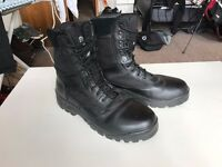 Grafters Hi-Leg Combat/Safety Boots, UK Size 11