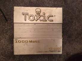 1000 watt toxic amp