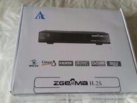 Zgemma h.2s dual tuner satellite receiver