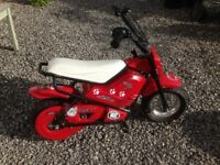 Kids electric monkey bike
