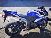 * 2007 Honda CBR 600RR 57 * 600 rr7 new tyre R6 Blue White FSH 2 keys all docs cbr600 rr cbr600rr