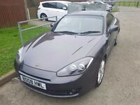 Coupe 2.0l petrol, low mileage, grey, red leathers, hpi clear