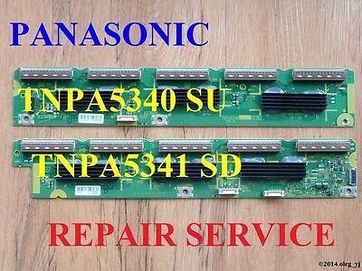 TNPA5340 TNPA5341 SU SD BOARDS REPAIR SERVICE  PANASONIC TC-P55GT30 TC-P55ST30