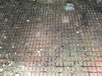Salt glazed floor blocks reclamation for sale