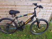 "Mens BOSS Convert 26"" front suspension/dual disc mountain bike"