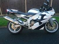 Kawasaki zx600 J1 zx6R new tyres chain low mileage free delivery nationwide